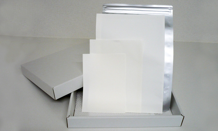 真空・防湿パックを標準で採用した「基本パッケージ」